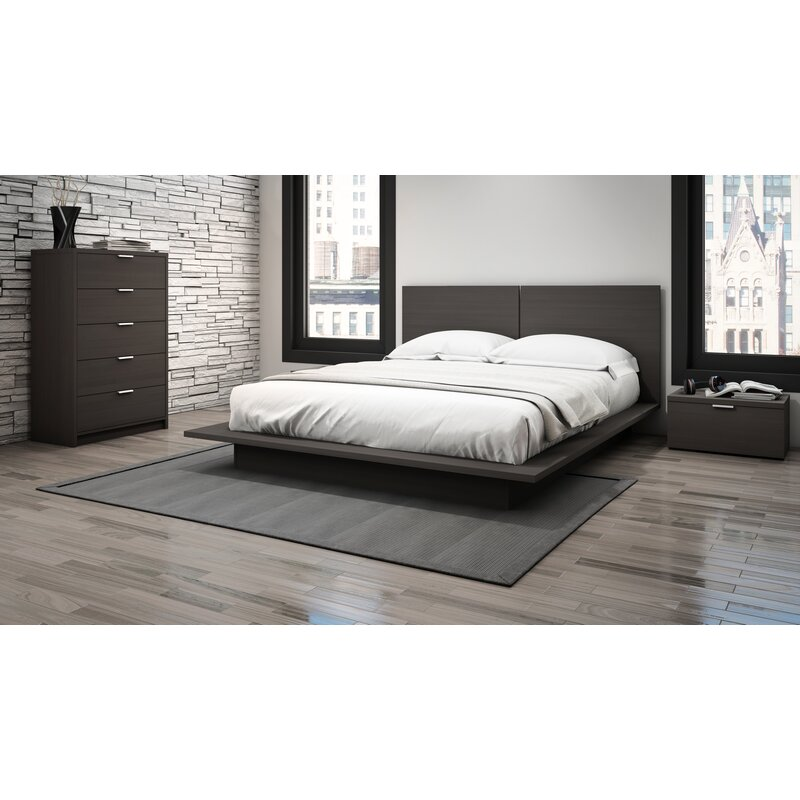 Superieur Decimus Queen Platform Configurable Bedroom Set