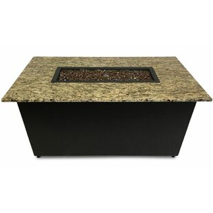 The Monaco Aluminum Gas Fire Pit Table