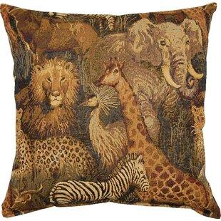 Senegal Jungle Throw Pillow