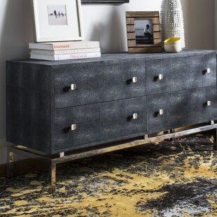 Everly Quinn Rodriquez 4 Drawer Dresser