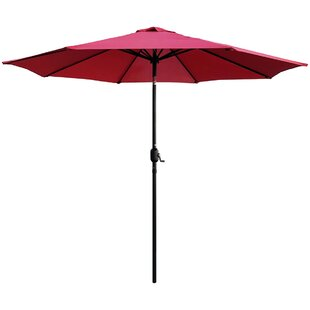Highland Dunes Bookout Patio 9' Market Umbrella