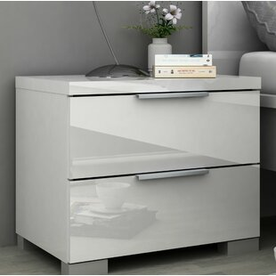 Clayton 2 Drawer Nightstand