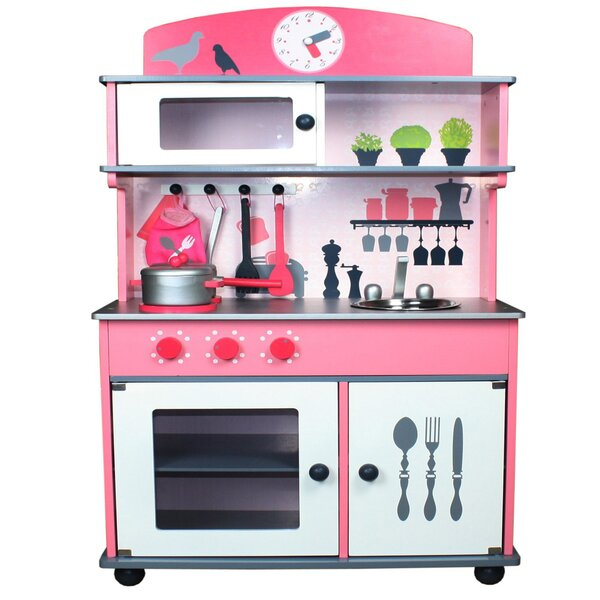 berry toys my very own wooden play kitchen reviews wayfair - Toy Kitchen