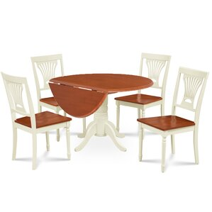 Forthill 5 Piece Dining Set by Alcott Hill