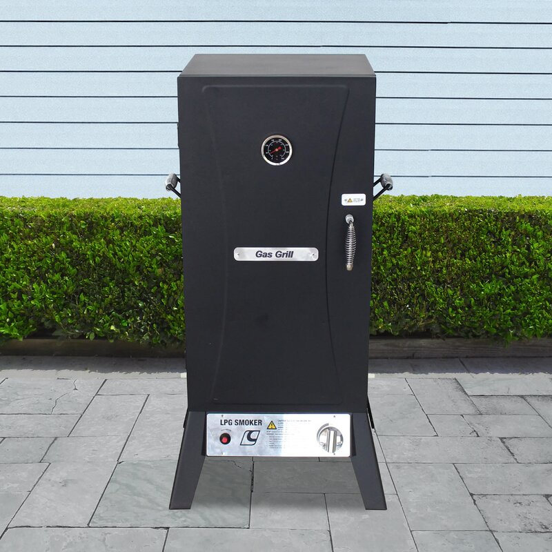 Vertical Charcoal 642 Square Inches Smoker