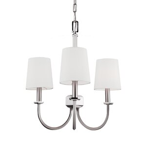 Darby Home Co Holdren 3-Light Shaded Chandelier