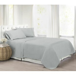 Ultra Light Solid Color Sheet Set by Alwyn Home Best
