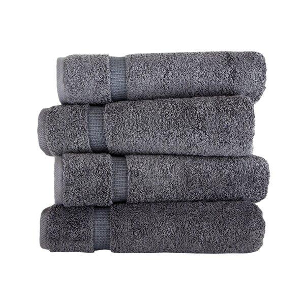 "Terry Cotton Absorbed Soft Luxury Bath Towel Turkish Cotton 4 Piece Set 16/""x 28/"""