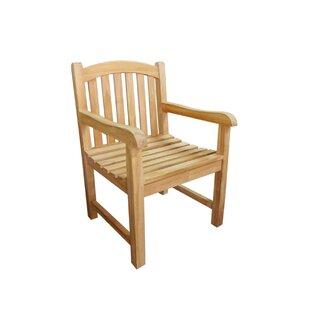 D-Art Collection Captain Teak Patio Chair