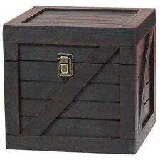 Sloan Wooden Stackable Lidded Crate Trunk by Breakwater Bay