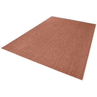 Meadow Woven Orange Rug By Bougari