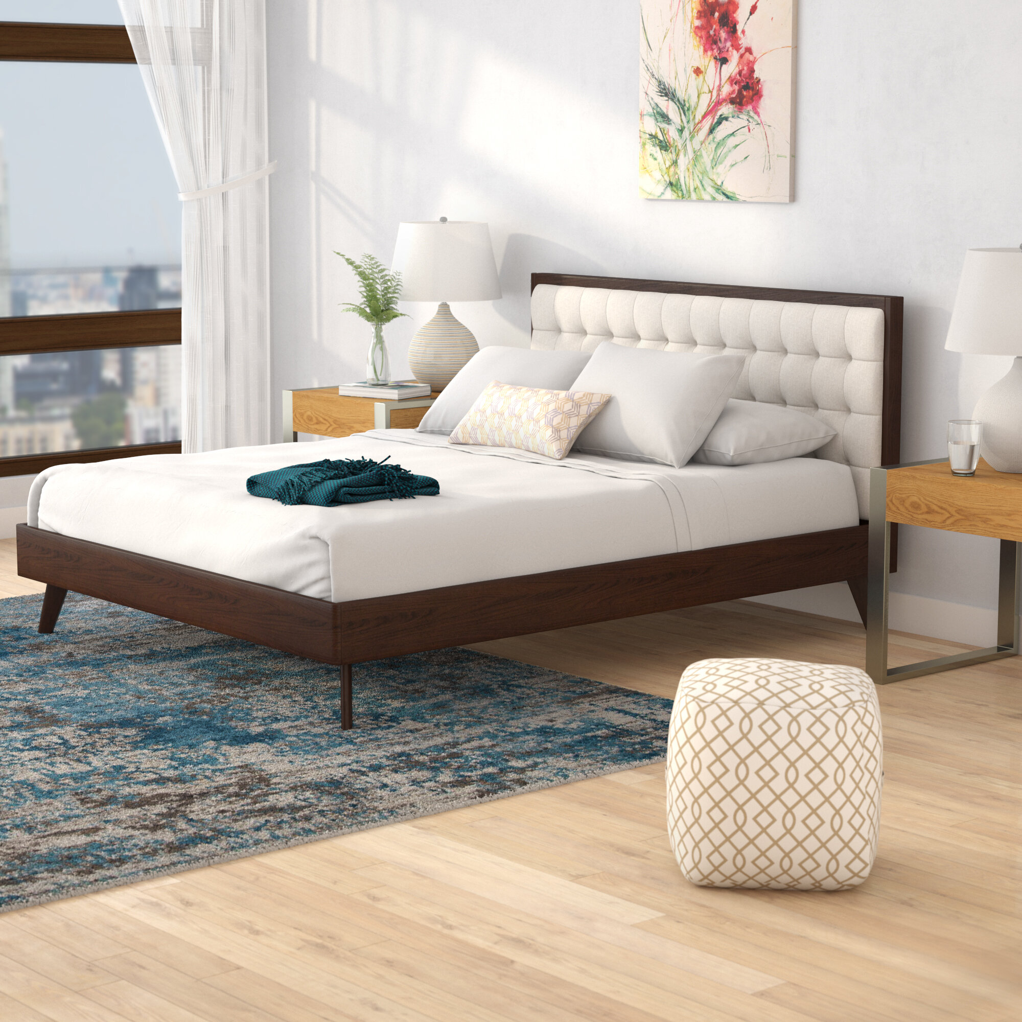King Size Mid Century Modern Beds You Ll Love In 2021 Wayfair