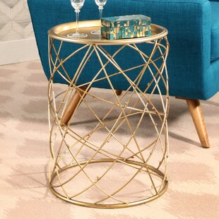 Mornington Iron End Table by Mercer41