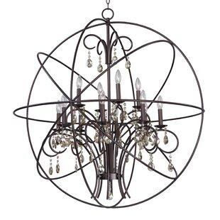 Maxim Lighting Orbit 12 Light Globe Chandelier