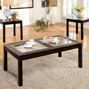 Eppinger 3 Piece Coffee Table Set Darby Home Co