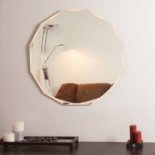 Affordable Frameless Diamond Wall Mirror By Decor Wonderland