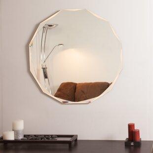 Read Reviews Frameless Diamond Wall Mirror ByDecor Wonderland