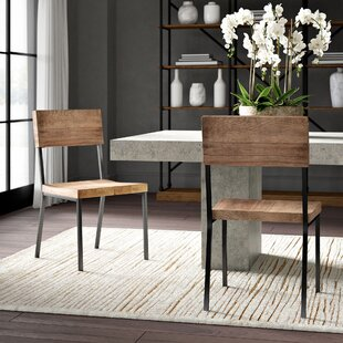 Bagnell Solid Wood Dining Chair (Set Of 2) by Greyleigh No Copoun