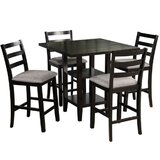 5 - Piece Counter Height Dining Set (Set of 5) by Red Barrel Studio®