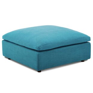 Clarita Down Filled Overstuffed Ottoman