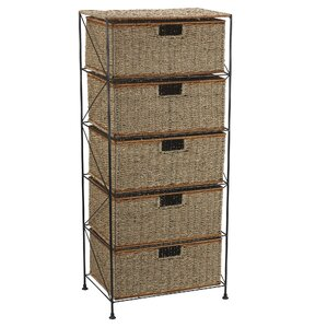Captivating Greenlawn 5 Drawer Storage Chest