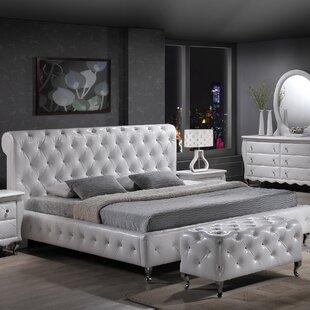Willa Arlo Interiors Ridgeway Upholstered Platform Bed
