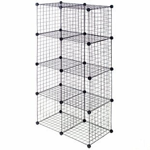 Bryce Grid Wire Cube Bookcase