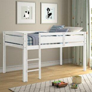 Norelle Twin Low Loft Bed by Harriet Bee
