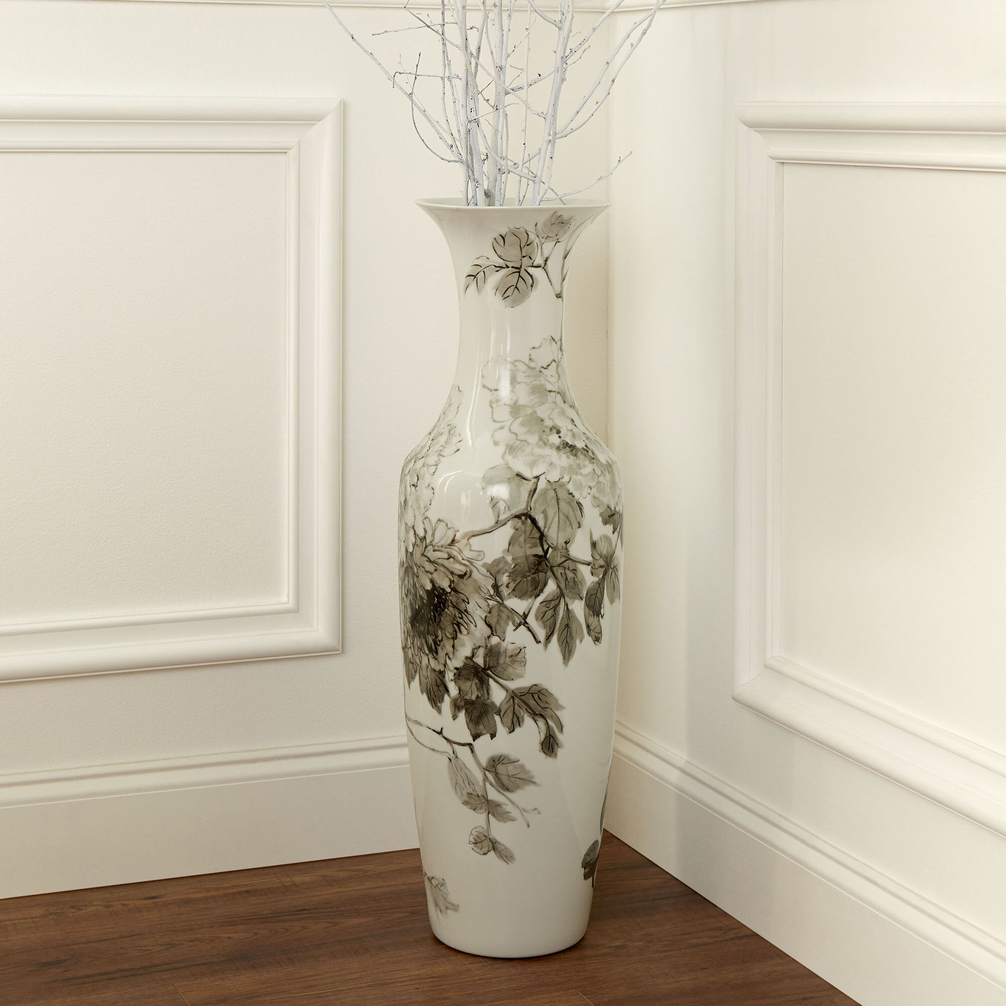 Cyan Design Blossom White Green 31