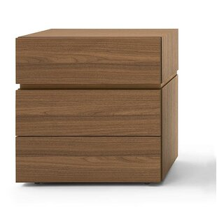 People 3 Drawer High Nightstand by Pianca USA