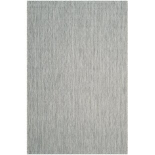 Mullen Gray/Navy Indoor/Outdoor Area Rug