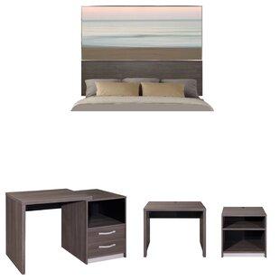 Asha Panel Configurable Bedroom Set