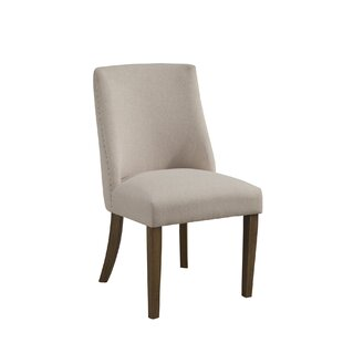 Gracie Oaks Whitten Upholstered Dining Chair (Set of 2)