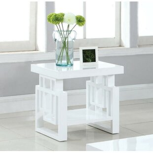 Compare prices Pinon End Table by Brayden Studio