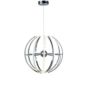 Compare prices Graci 12-Light LED Globe Chandelier By Orren Ellis
