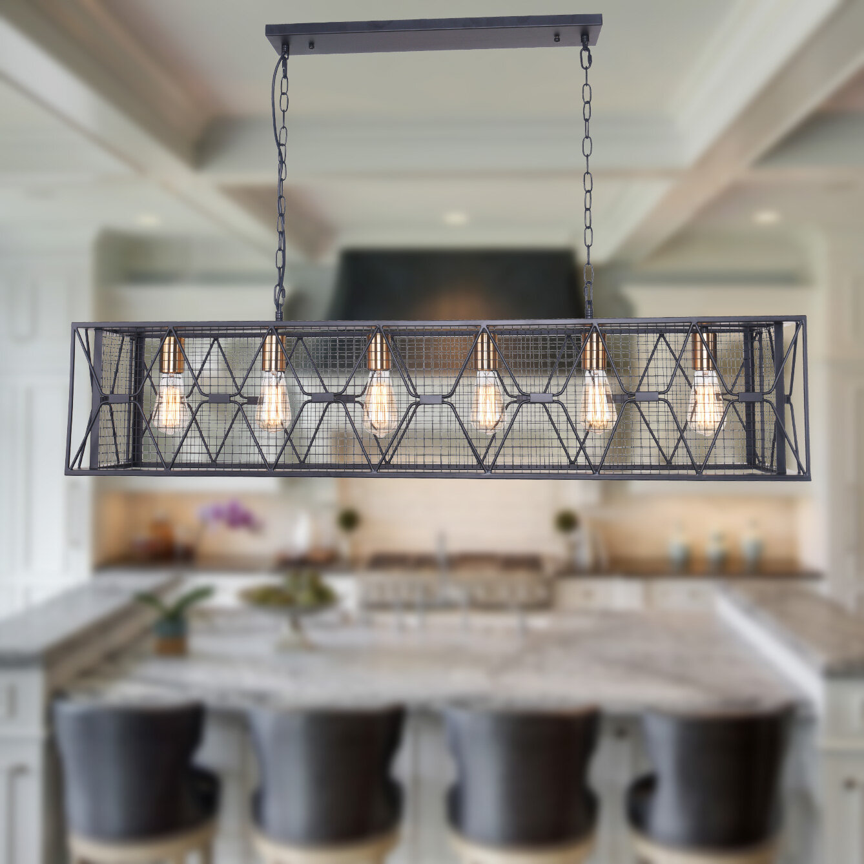 4 6 Light Kitchen Island Pendant Lighting You Ll Love In 2021 Wayfair