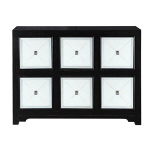 Njie Elegant 6 Drawer Accent Chest