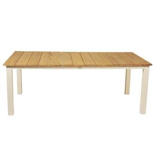 Anoki Extendable Aluminium Dining Table By Ebern Designs
