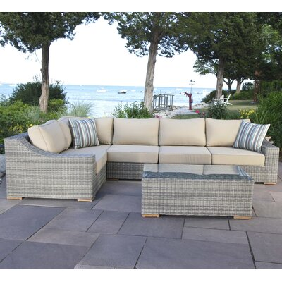 corsica 6 piece seating group with cushions