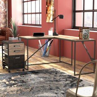 Greyleigh Edgerton 2 Piece L-Shaped Desk Office Suite