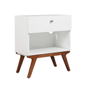 Brake 1 Drawer Nightstand