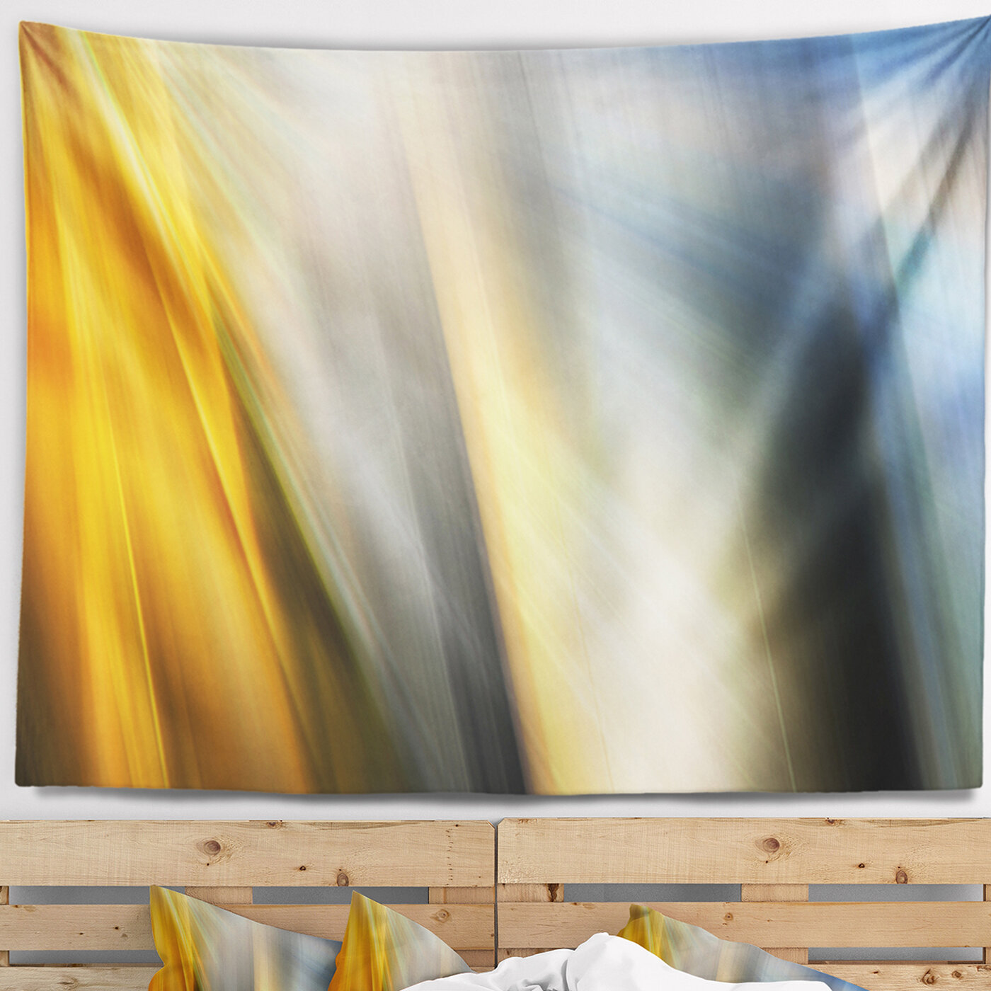 East Urban Home Abstract Rays of Speed Vertical Tapestry and Wall ...
