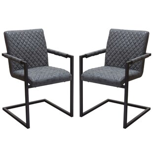 Jada Diamond Tufted Upholstered Dining Chair (Set of 2) by 17 Stories