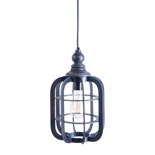 Gracie Oaks Mellinger 1-Light Lantern Pendant