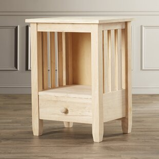 Middlebury Wood Mission End Table byCharlton Home