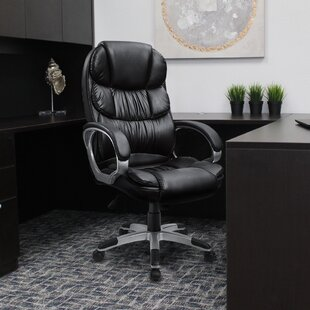 Carleen High Back Executive Chair by Symple Stuff Great Reviews