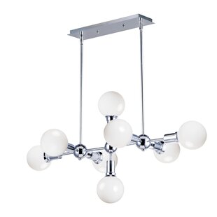 Wrought Studio Godbey 8-Light Sputnik Chandelier