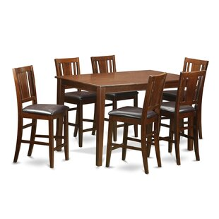 Dudley 7 Piece Dining Set by Wooden Importers Wonderful