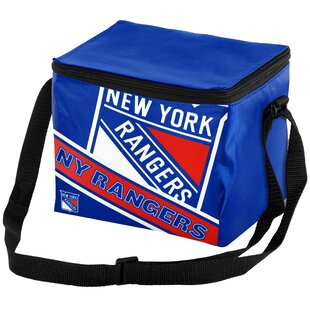 6 Can NHL Big Logo Stripe Picnic Cooler
