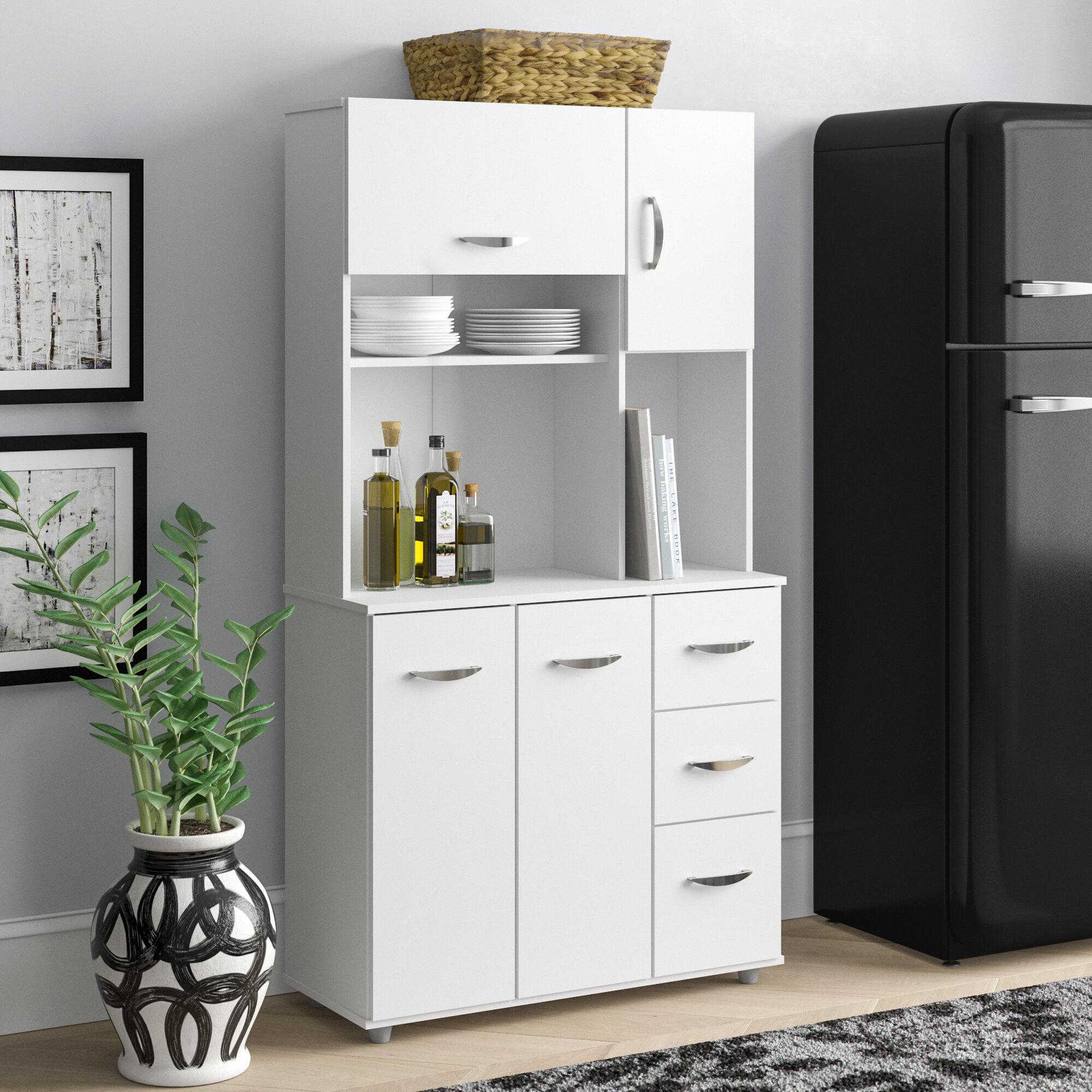 Latitude Run Blanken 66 Kitchen Pantry Reviews